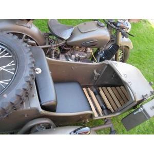 Tappeto in legno per sidecar ural dnepr - Ricambi moto d\'epoca