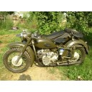 Sidecar K750 militare due ruote motrici